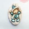 Winter Fun Bear Cookie