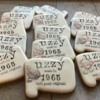 Vintage cookies for a vintage birthday
