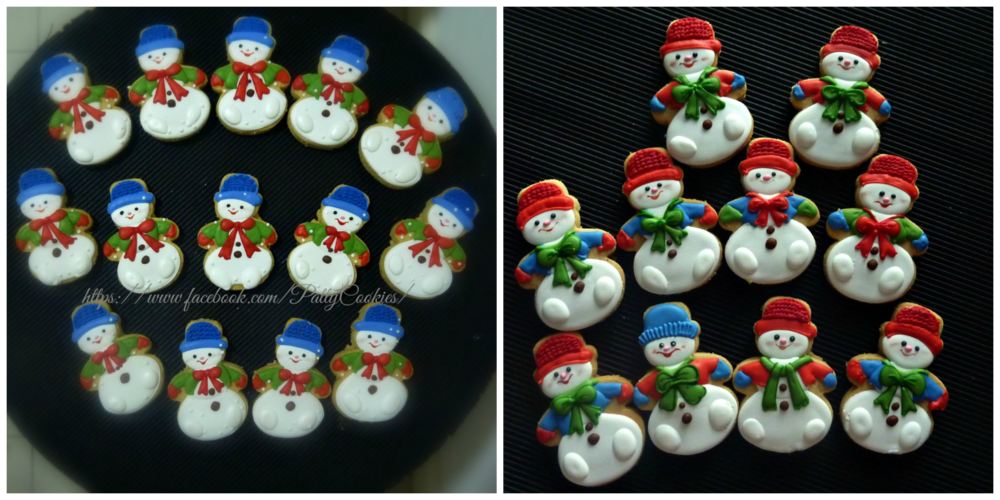 more and more snowman ....