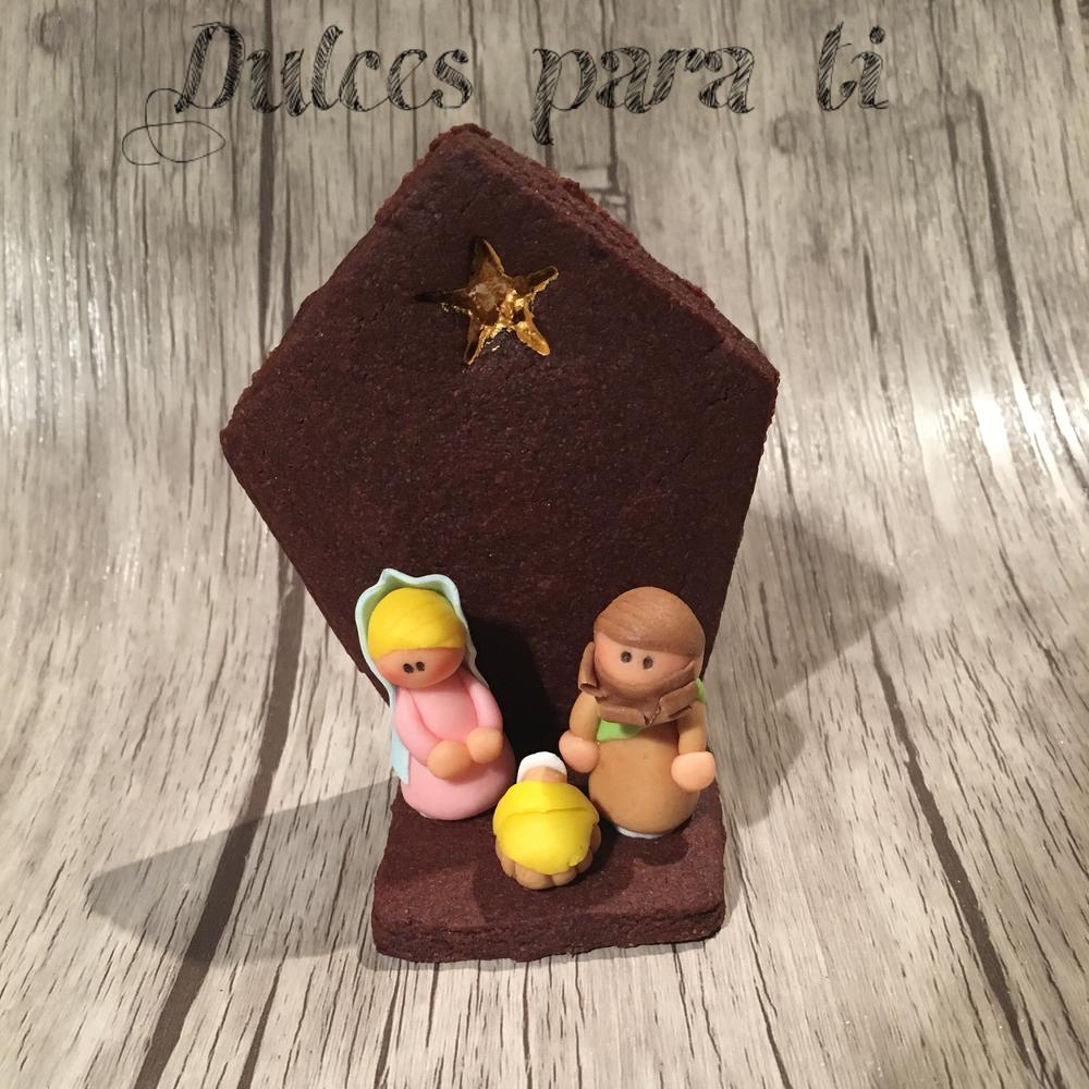 Nativity cookie
