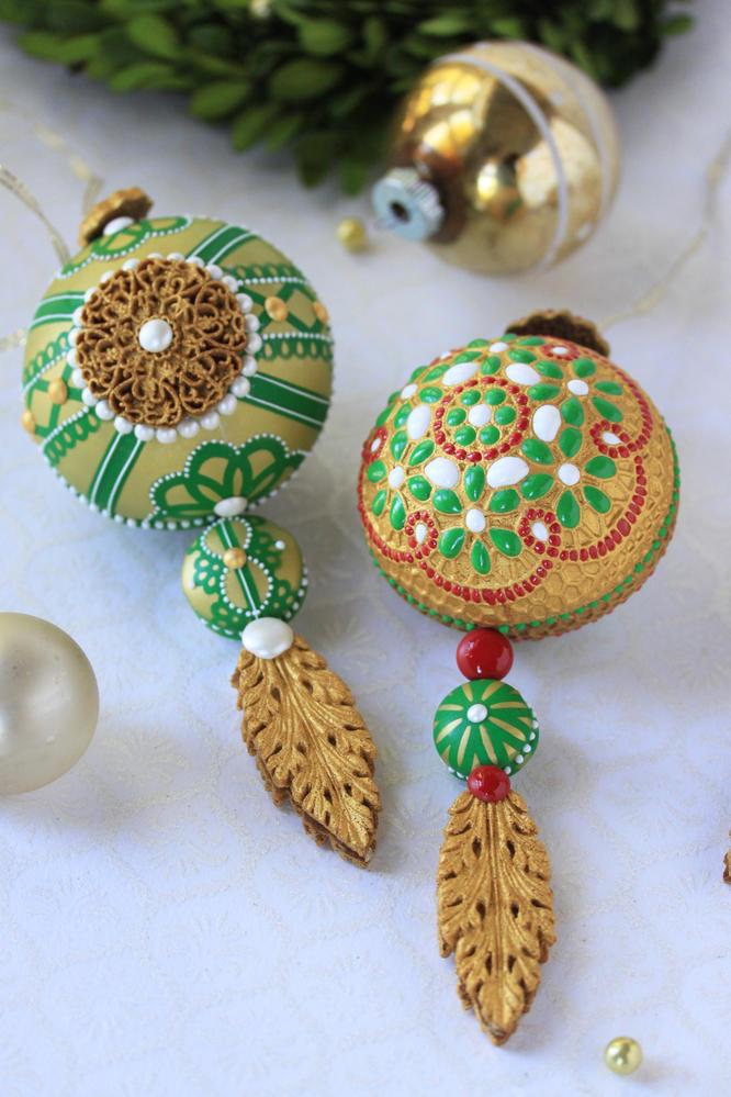 3-D Christmas Ornament Cookie Detail