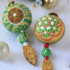 3-D Christmas Ornament Cookie Detail