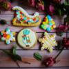 Holly Hobbie Christmas cookies set
