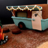 Travel Trailer Gingerbread House