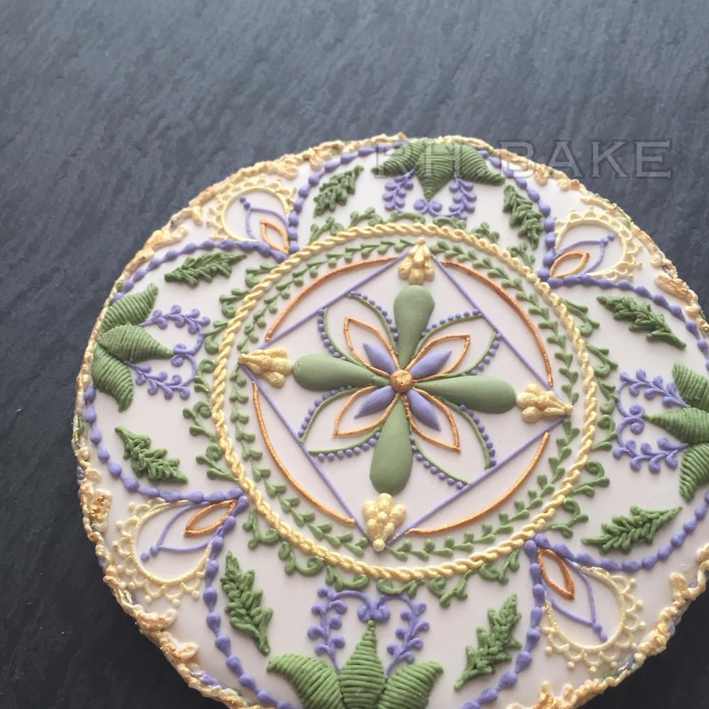 Botanical cookie
