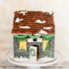 Gingerbread Stone Cottage