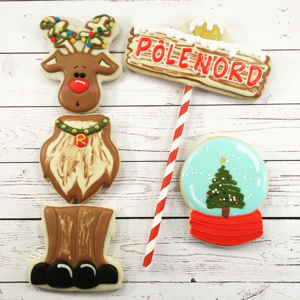 Reindeer ready for Christmas!