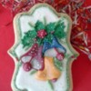 Jingle bell cookie one