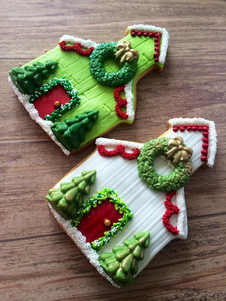 Lorena Rodriguez Christmas House Cookies Cookie Connection