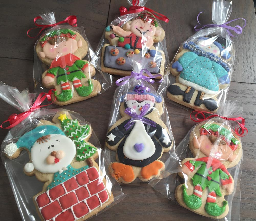One more. Christmas cookies