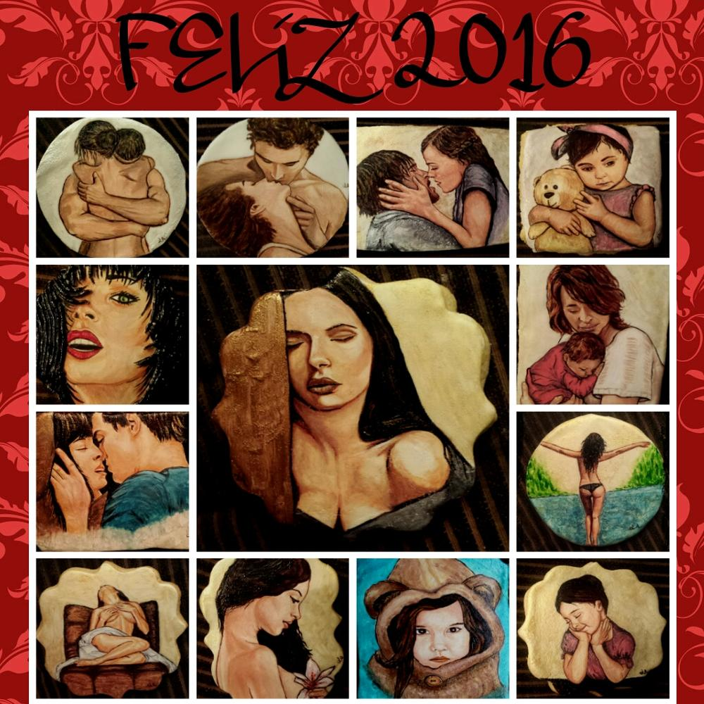 happy New year collage