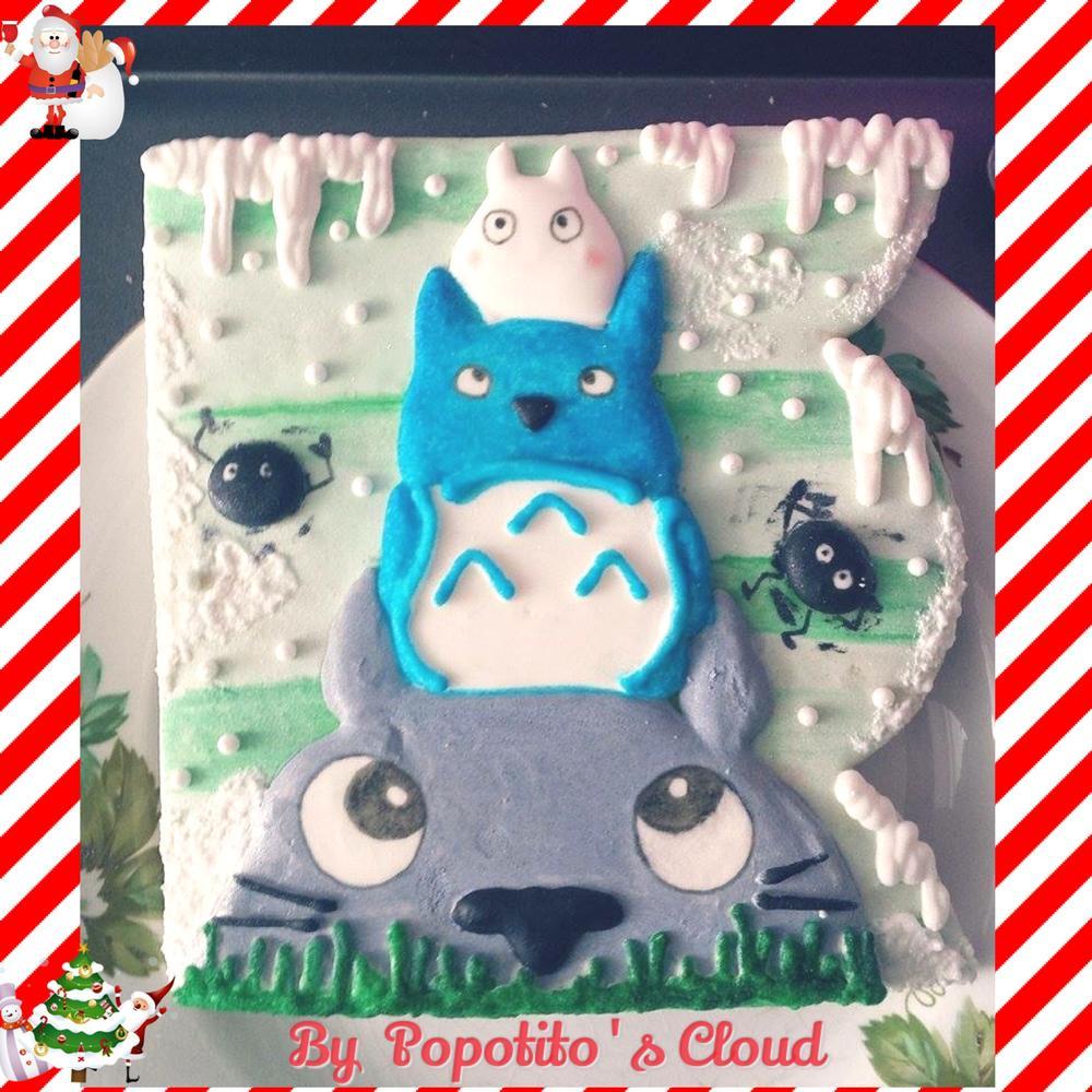 74c4bd474b13 Totoro Cookies