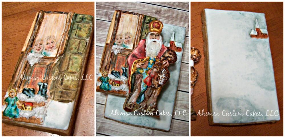 Ukraine St. Nicholas by Ahimsa Custom Cakes