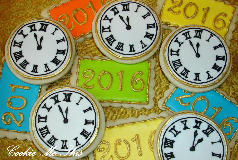 New Year's Eve Clocks