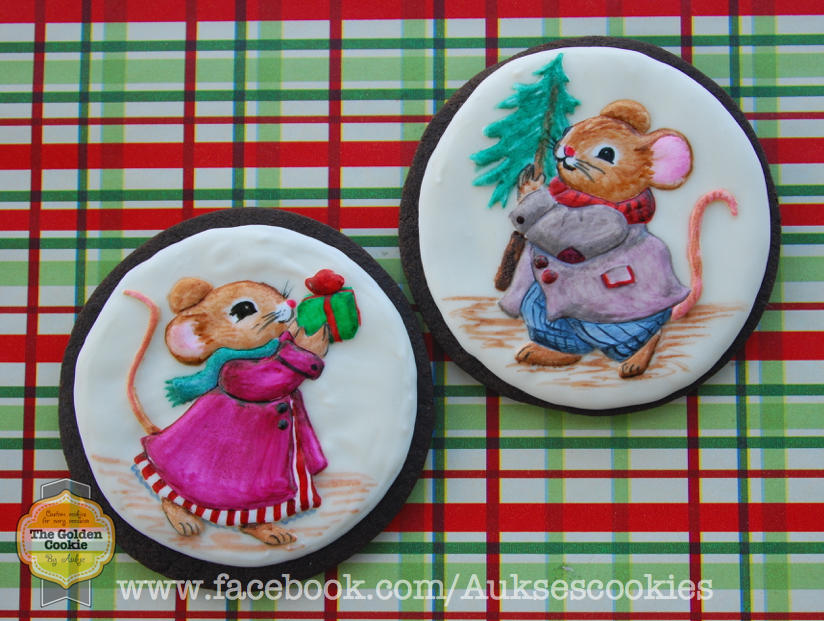 Christmas Mice by The Golden Cookie