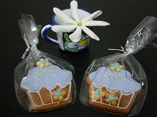 Purple Cupcake Cookies