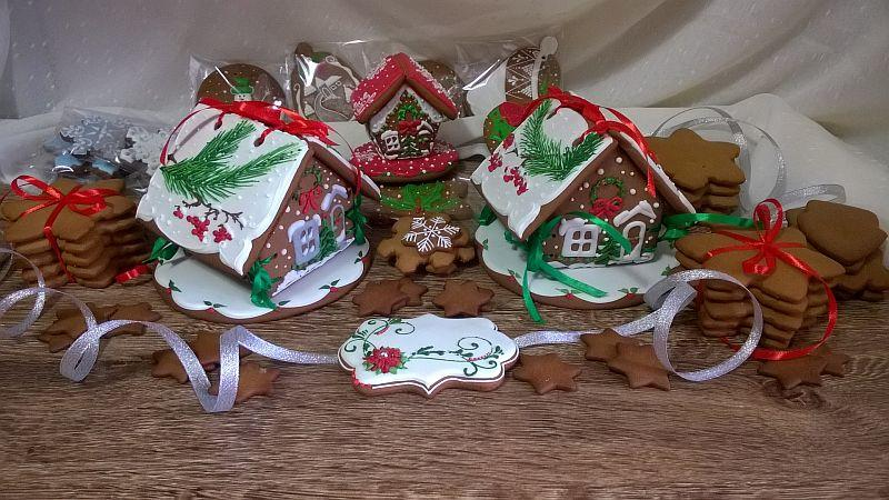 Winter Gingerbread Set