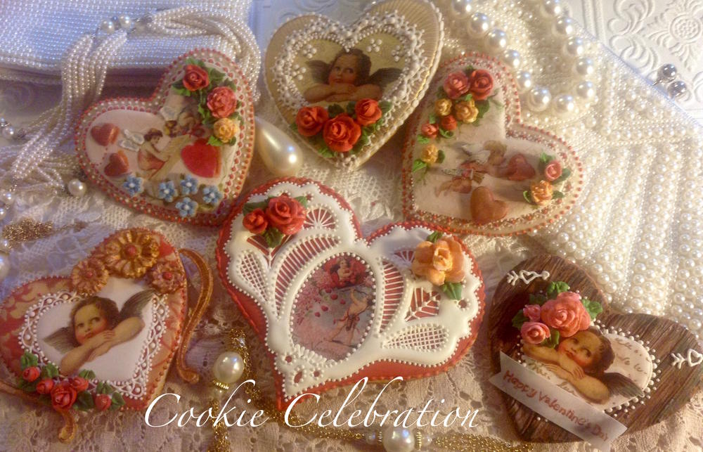 Vintage Valentines (Cookie Celebration)
