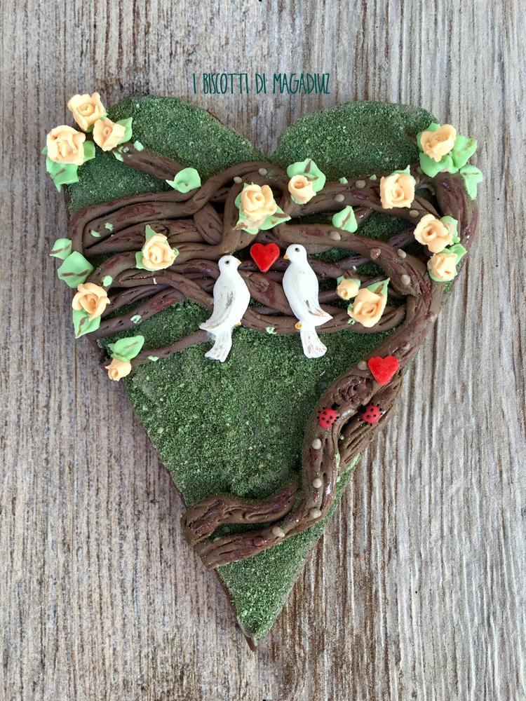 Valentine's Day Topiary Art