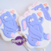 Maddy Ds Sweets Purple Elephant Valentines Day Cookie Pop 2