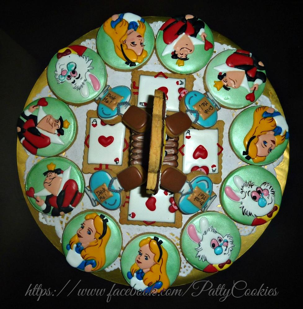 alice in wonderland platter (without watch)