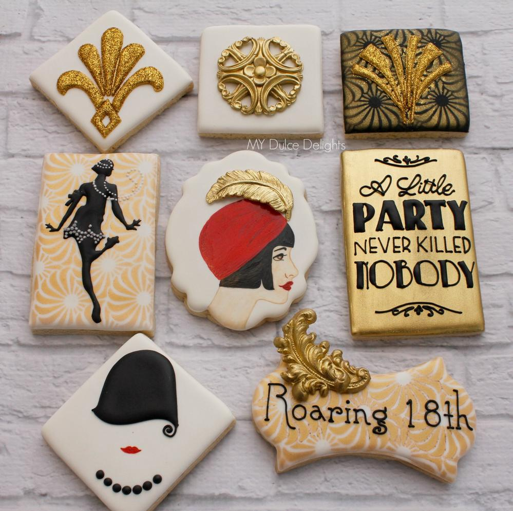 Gatsby-themed Cookies