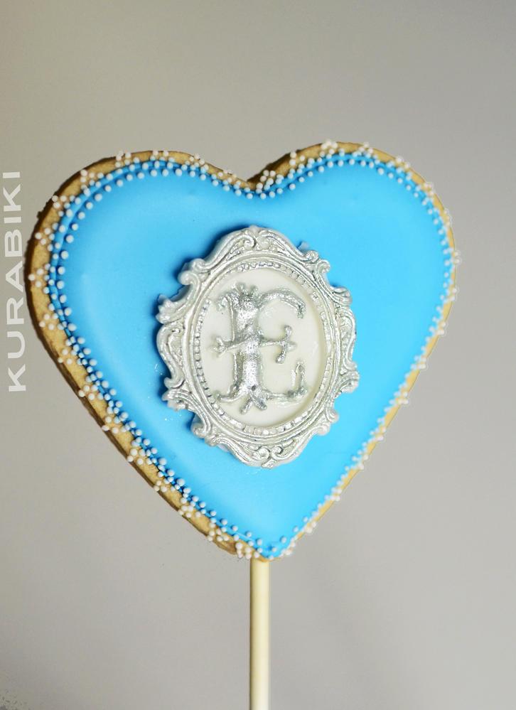 """""""Frozen """" Valentine' s Day heart"""