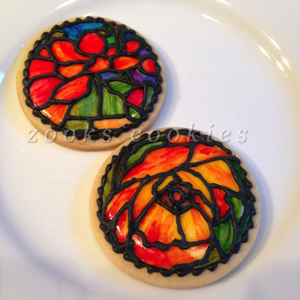 Tiffany Lamp Cookies by Zooks