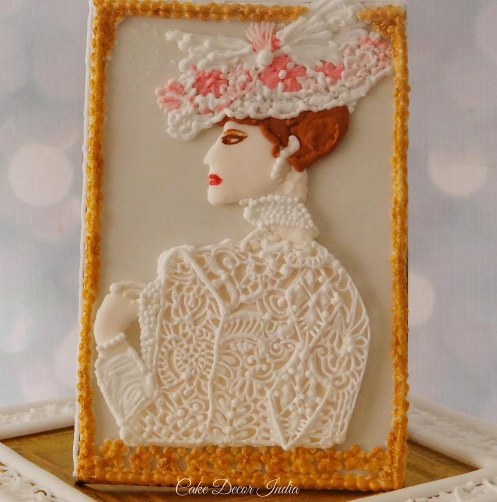 Victorian Lady Cookie