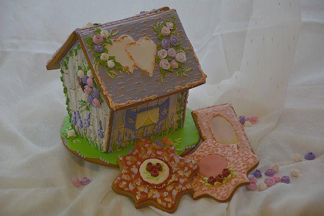 "Gingerbread House  ""Lavender Wedding"""