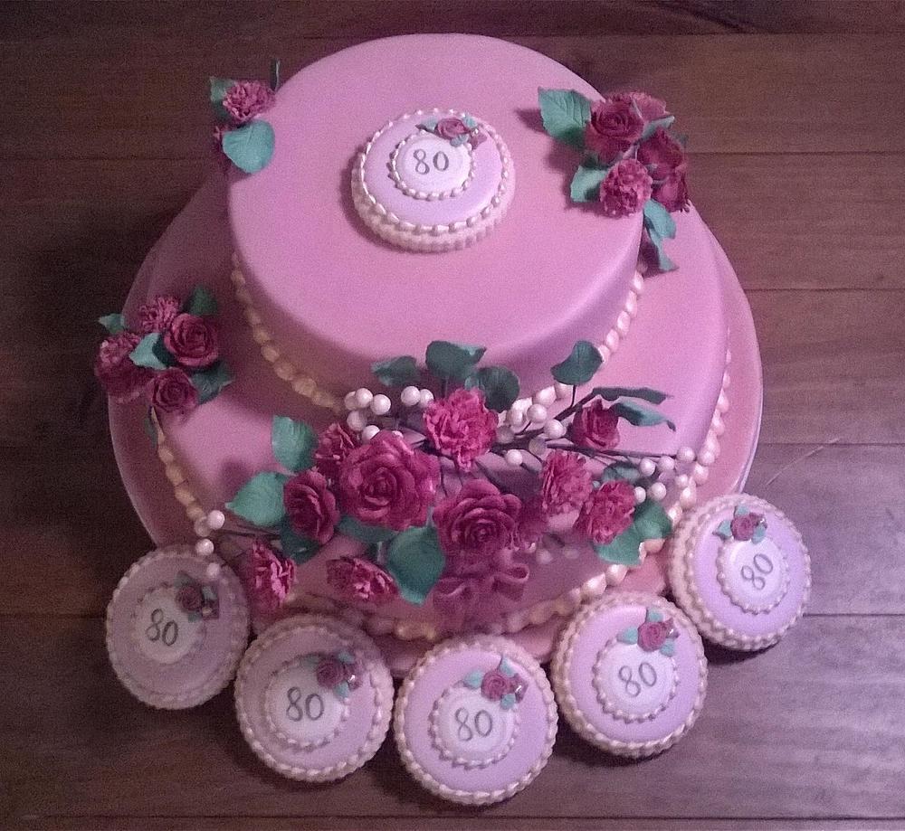 Nostalgic Birthday Cake