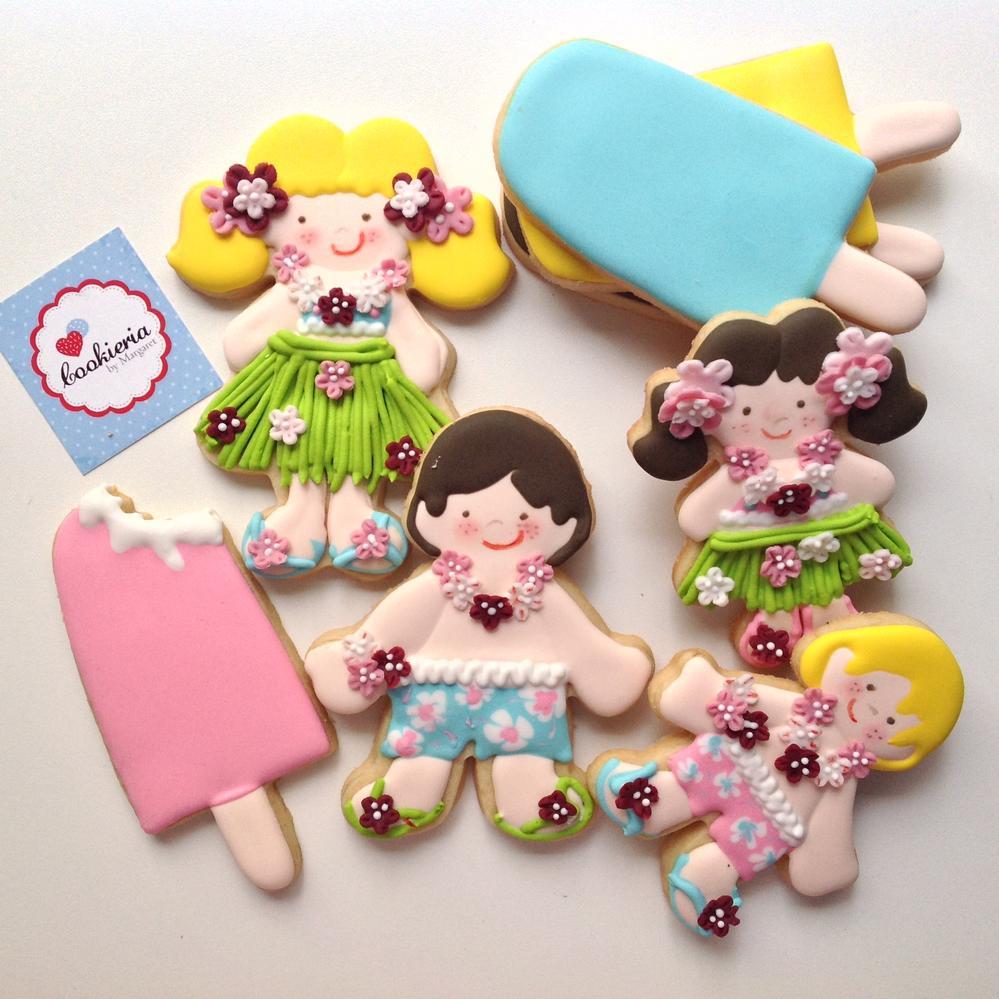 Mardi Gras Cookies