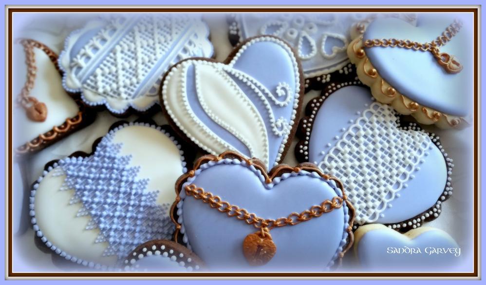 Valentine Cookies by Sandra Garvey