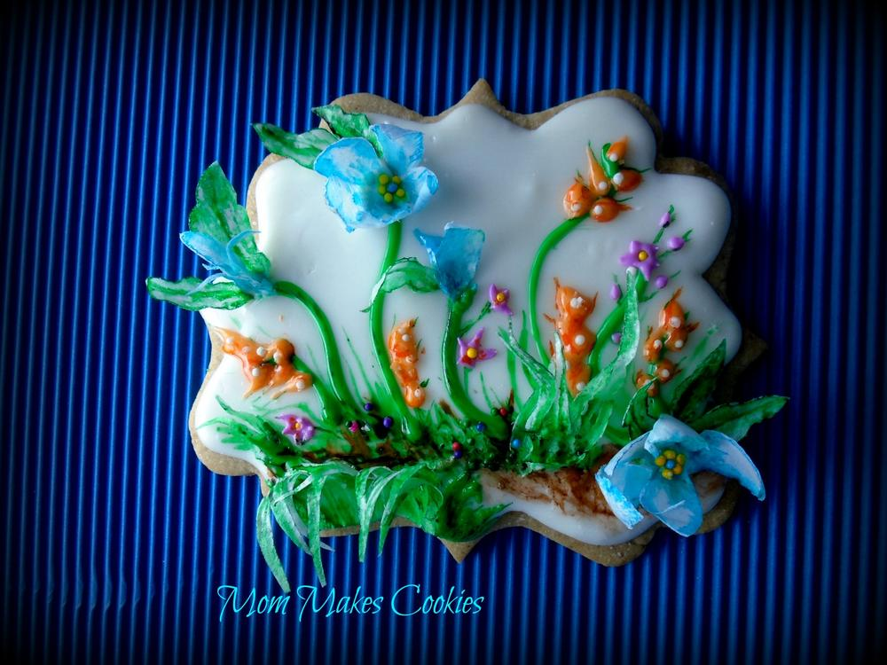 Rice paper and candy garden