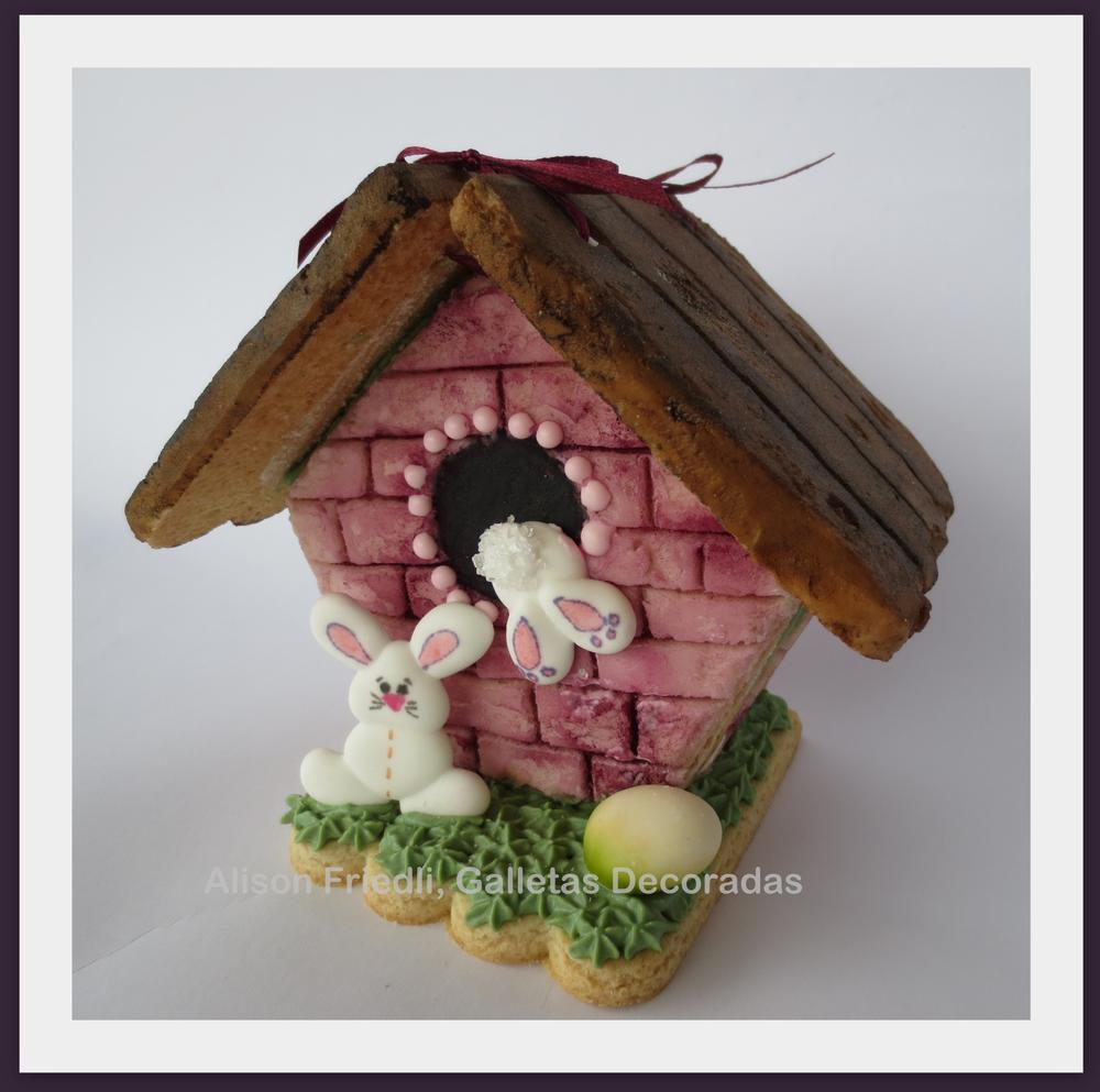 Surprise Easter Cookie House-Box