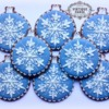 Wedgwood inspired christmas baubles