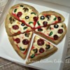 Heart Pizza by Ahimsa Custom Cakes