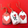 Cracked Cookies Valentine's Tags