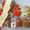 Valentine's day mini cookies