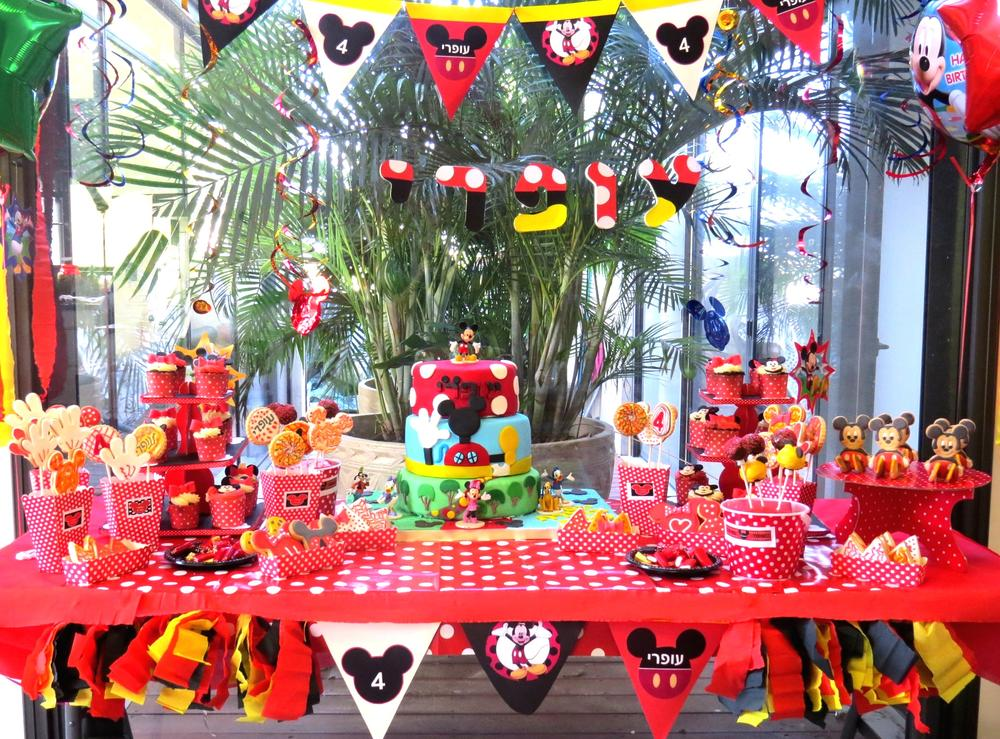 Mickey Mouse Club House Birthday Party