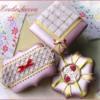 Kimono inspired cookies