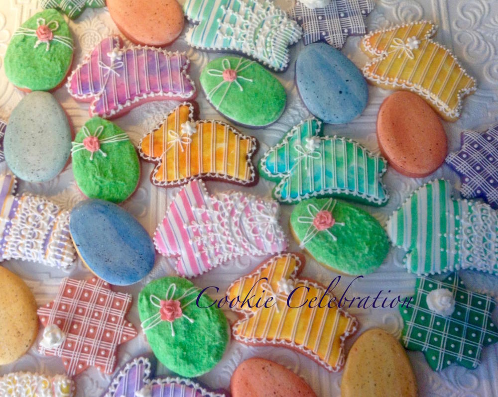 Colored Dough Cookie Tutorial (Cookie Celebration)