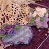 Purple and White Shabby Chic
