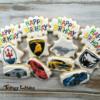 Fancy Car Birthday Cookies