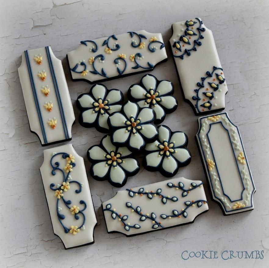 Turkish Tile-Inspired Cookies
