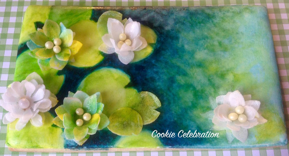 Water Lilies by Cookie Celebration