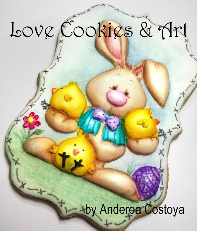 Easter Bunny cookie-1