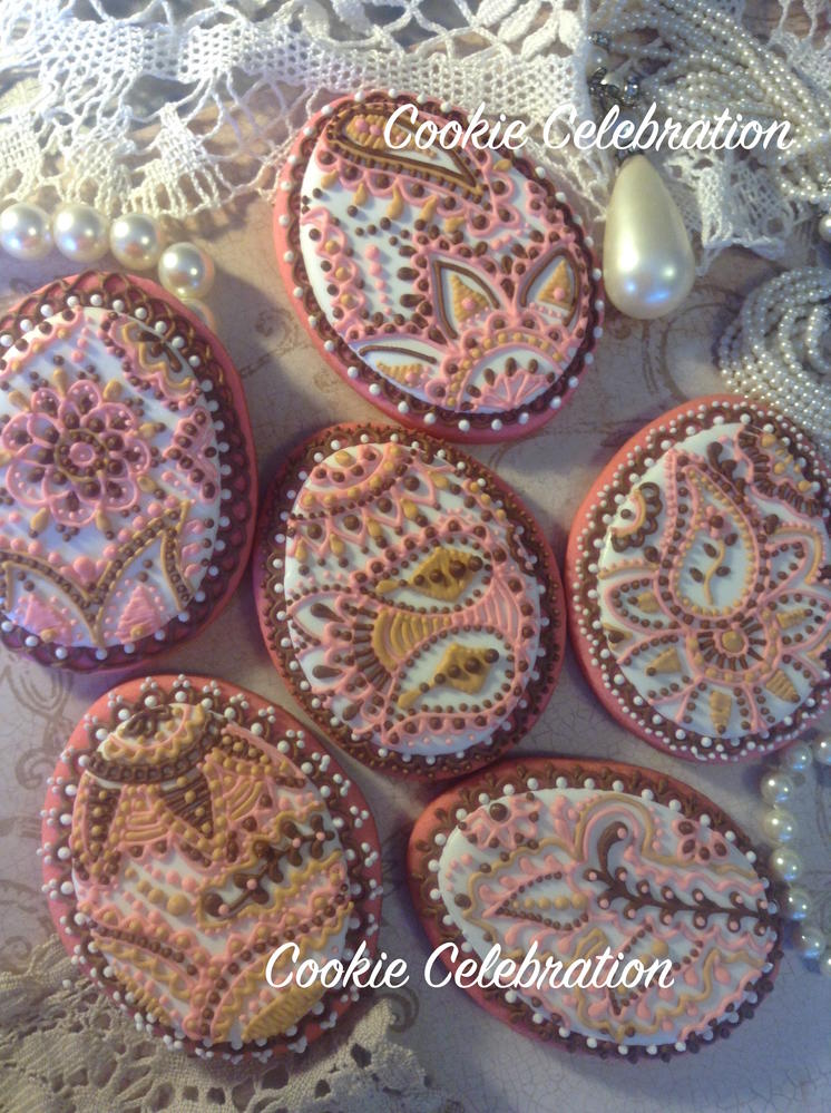 Pink & Brown Easter Eggs (Cookie Celebration)
