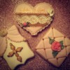 Baby Girl Christening Cookies