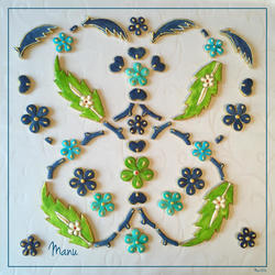 Floral Tile Design 5 Manu Mar 2016
